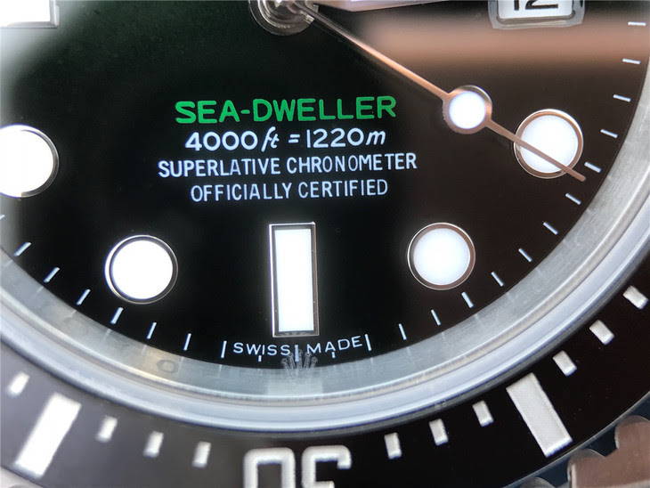Rolex Sea-Dweller D-Green Tiny Crown