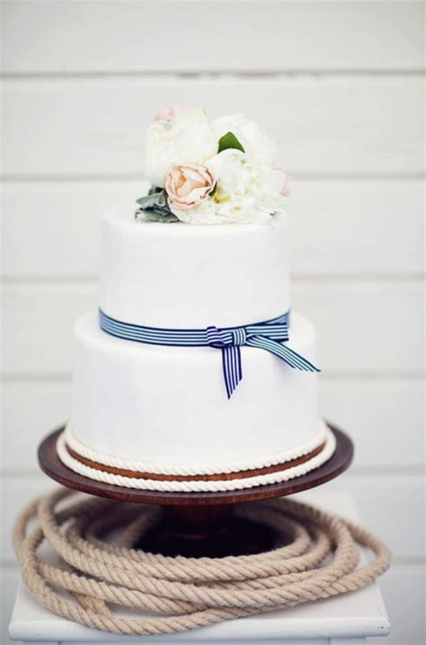 Wedding Inspiration: A Nod to Nautical   Pretty Happy Love