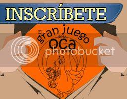 Inscripción de Organizacuaks en el IV Gran Juego de la Oca