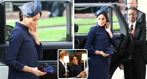 Meghan Markle's coat at royal wedding sparks pregnancy