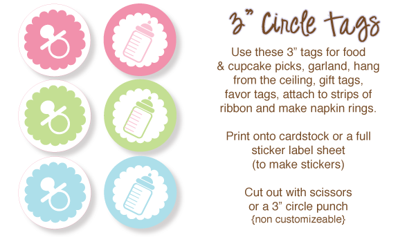 Free Baby Shower Clip Art just for you! Bottles, baby faces and more!