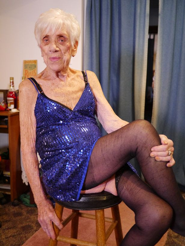 Marge, 92 from Pennsylvania, entertains audiences with her erotic dancing