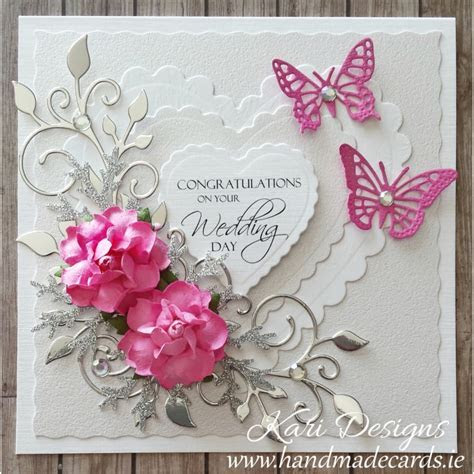 Handmade Wedding Wishes Card