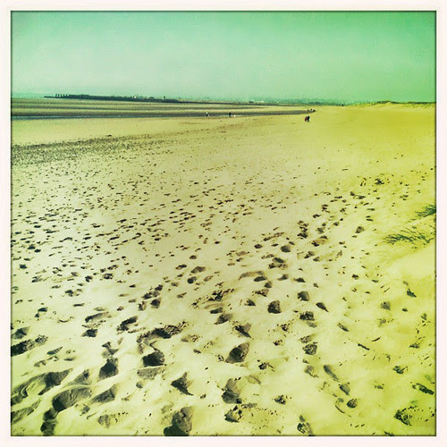 camber sands, mid october by Caroline Fraser