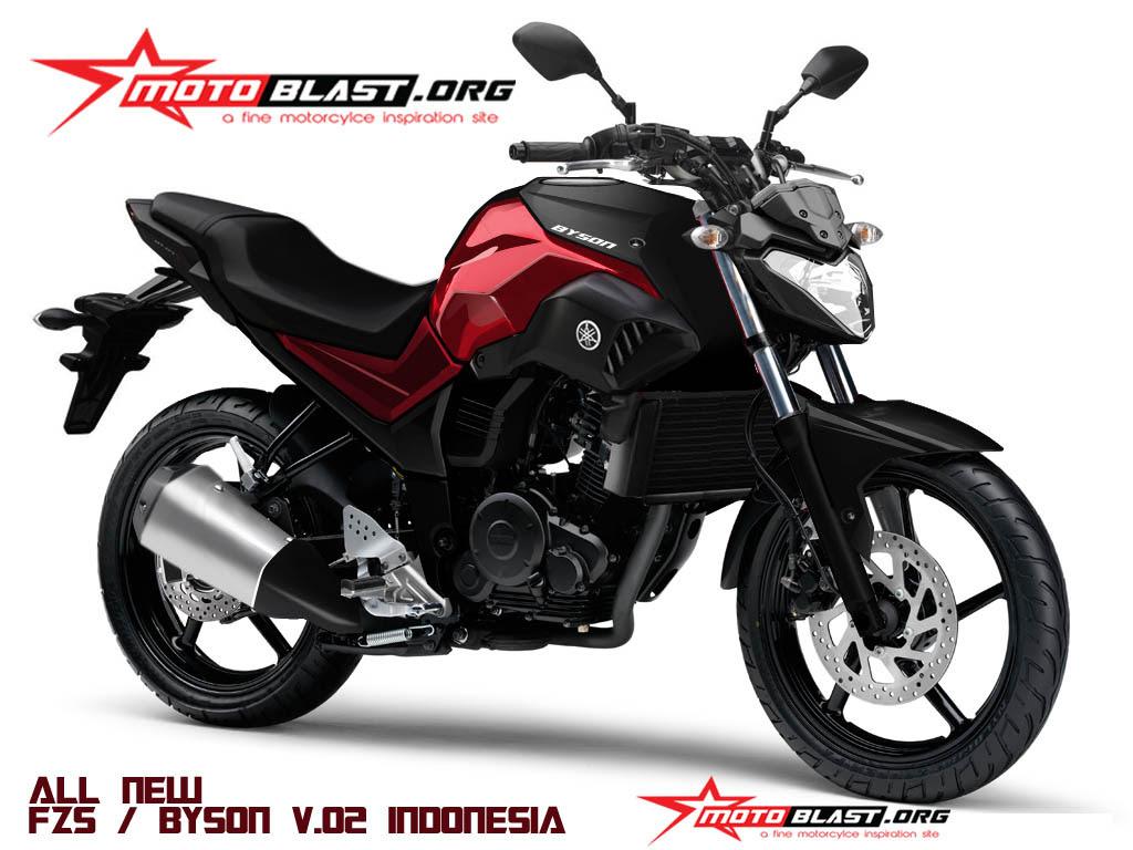 HOT New Rendering Yamaha Byson V02 Ala Motoblast Setuju Kah