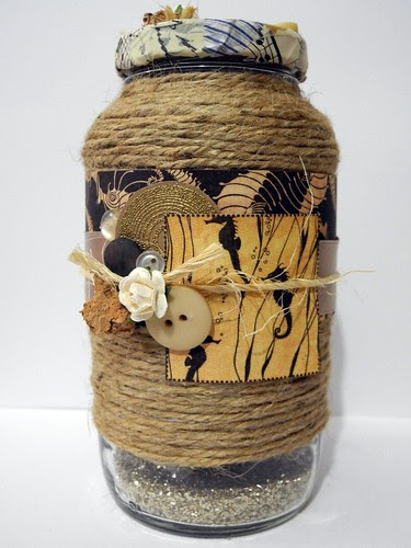 Sandy Beach Jar