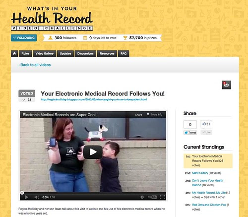 Your health record follows you