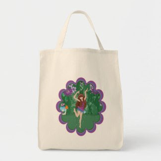 Jen the Dancing Flower Fairy Bag
