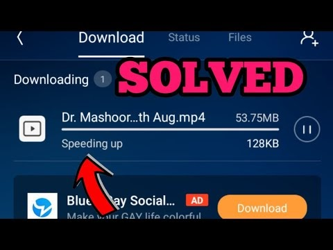 How to Fix UC Browser Speeding Up Your Download Problem Solved