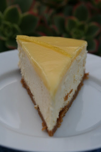 Lemon Cheesecake (Baking Illustrated)