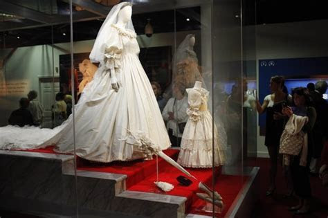 Princess Diana's Wedding Dress, 1981. Currently on display