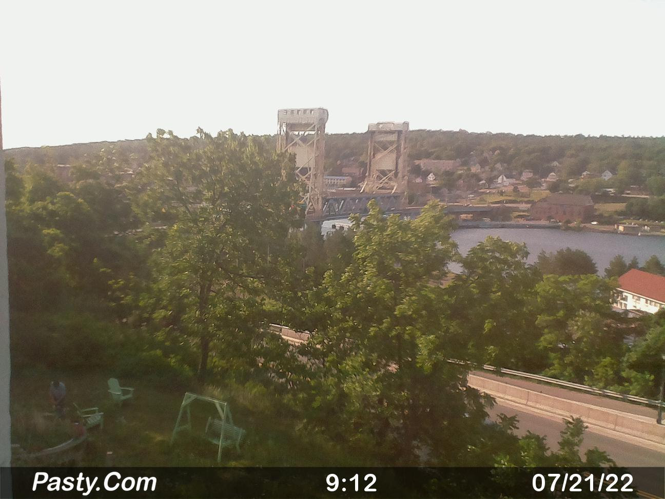 Houghton Michigan Lift Bridge