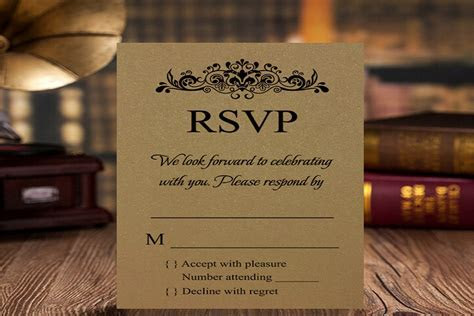 What Does RSVP Mean in an Invitation Card