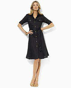 Lauren by Ralph Lauren Lovell Tissue Shirt Dress