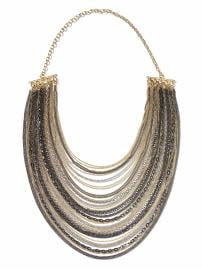 Banana Republic Commander necklace