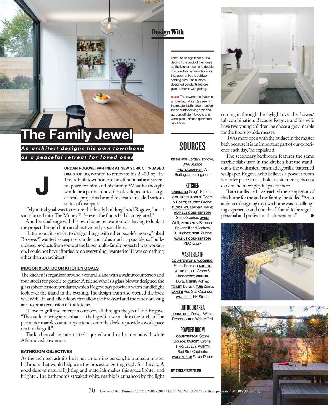 Kitchen Bath Business September 2017