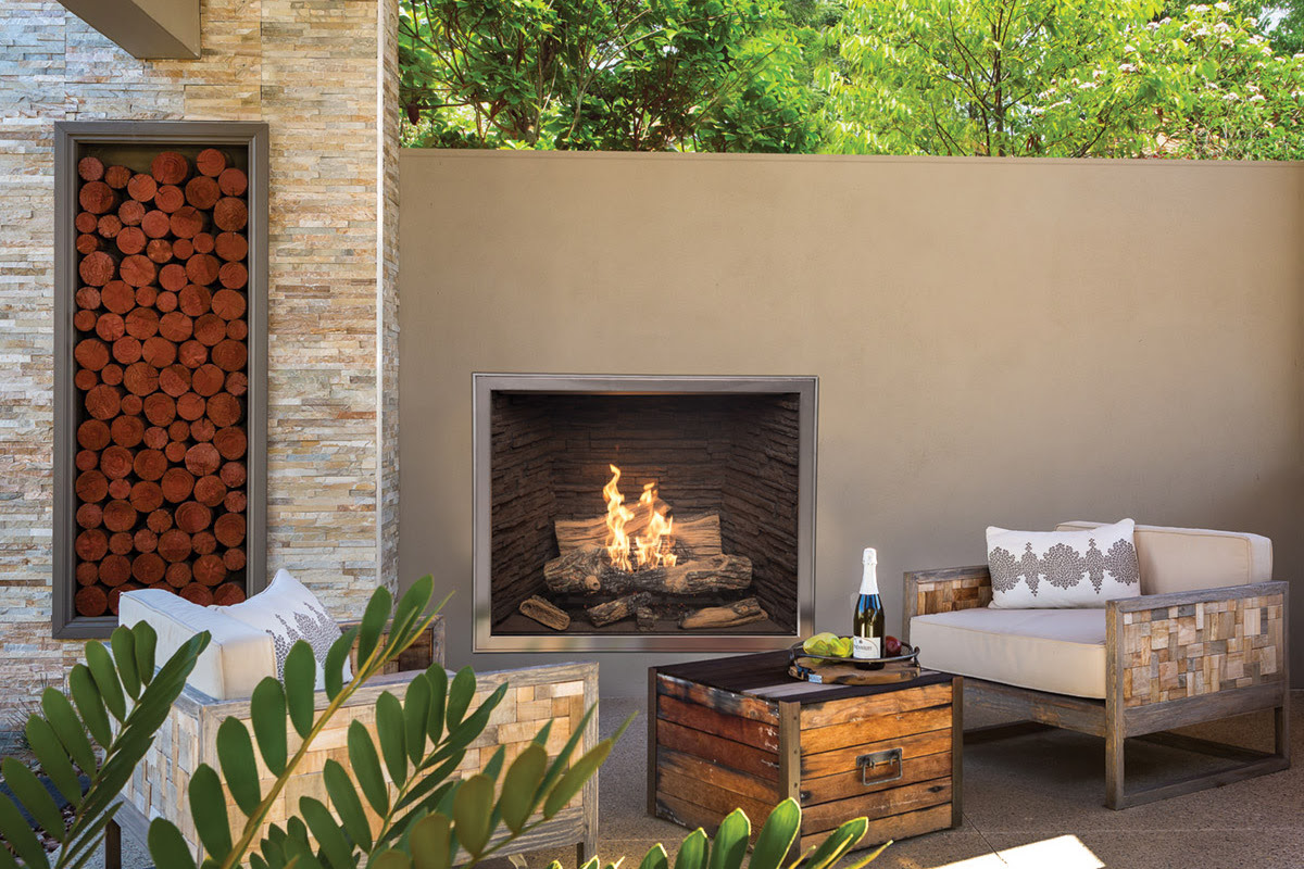Town & Country TC42 OD Outdoor Gas Fireplace - InSeason ...