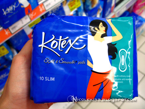 kotex soft and smooth