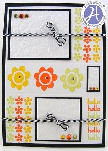 Beverly Sizemore Hampton Art January Project Three Hello Card_thumb[4]