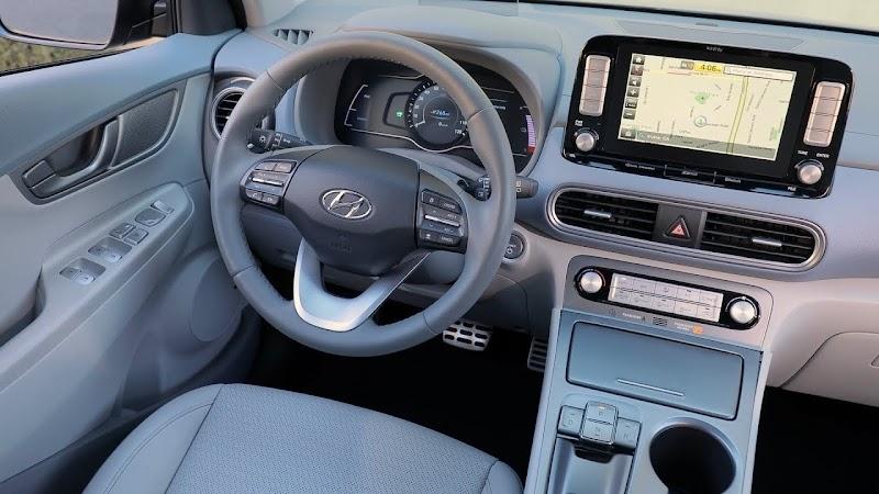 Kona Electric Car Interior