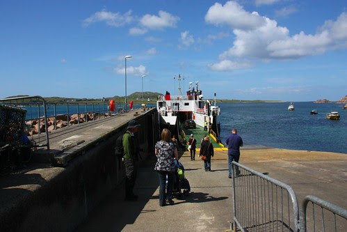 The ferry to Iona from Fionnphort