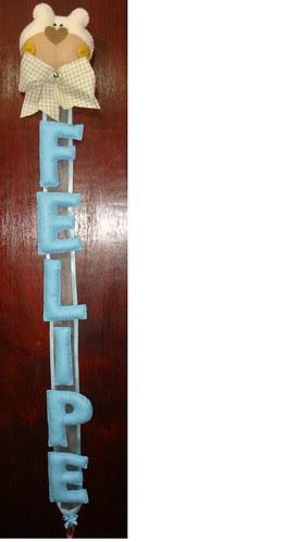 Ursinho para o Felipe! by Menina Prendada -