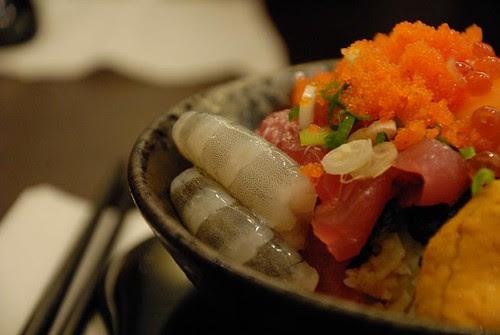 金泰海鮮蓋飯 - 蝦子