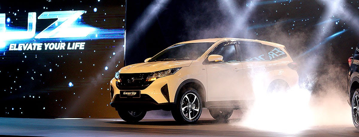 TopGear  Perodua Aruz officially launched
