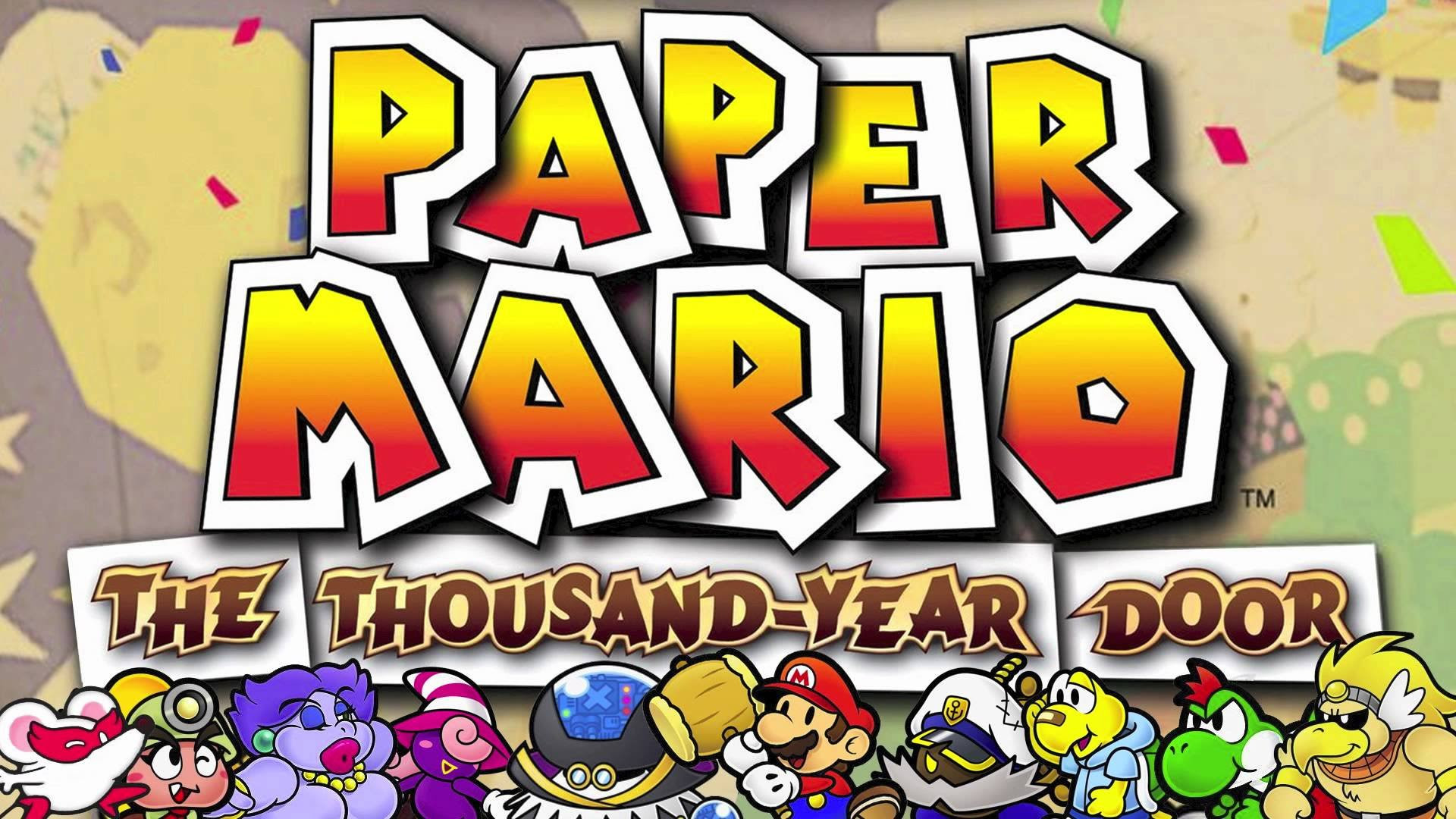 The Debug Code Has Been Found For Paper Mario The Thousand Year