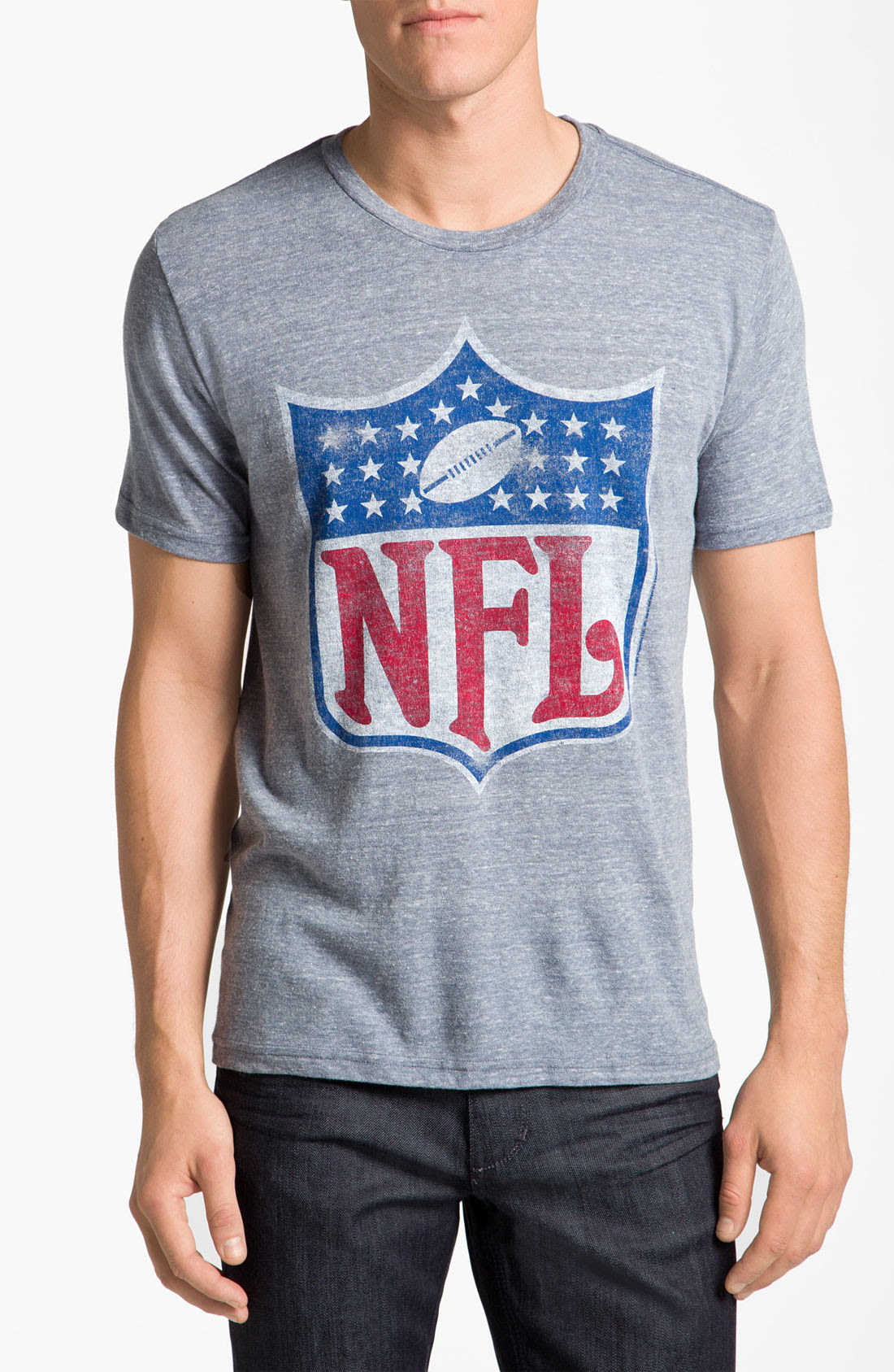 Junk Food Nfl Shield Graphic Crewneck Tshirt in Blue for Men navy  Lyst