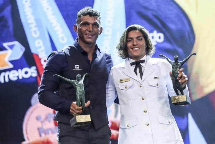 Isaquias Queiroz e Ana Marcela Cunha foram escolhidos como atletas do ano pelo COB - Foto: Wander Roberto   Exemplus   COB