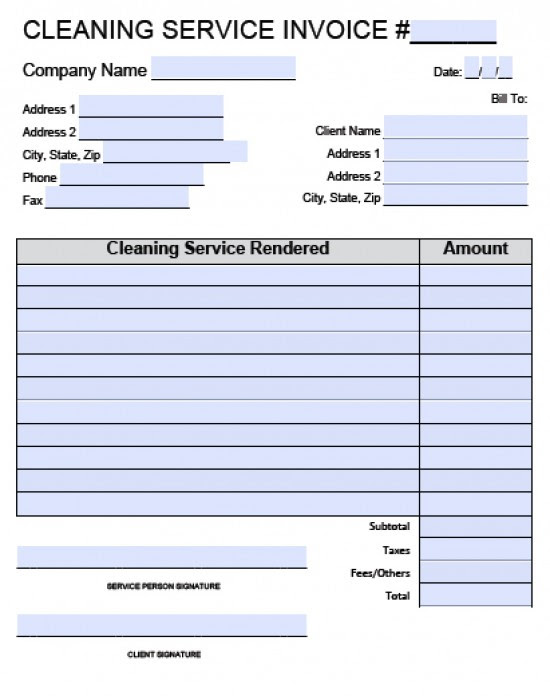 cleaning invoice template word cleaning invoice template free cleaning service invoice template adobe pdf microsoft word 550x696 qcogxj NvWfXC