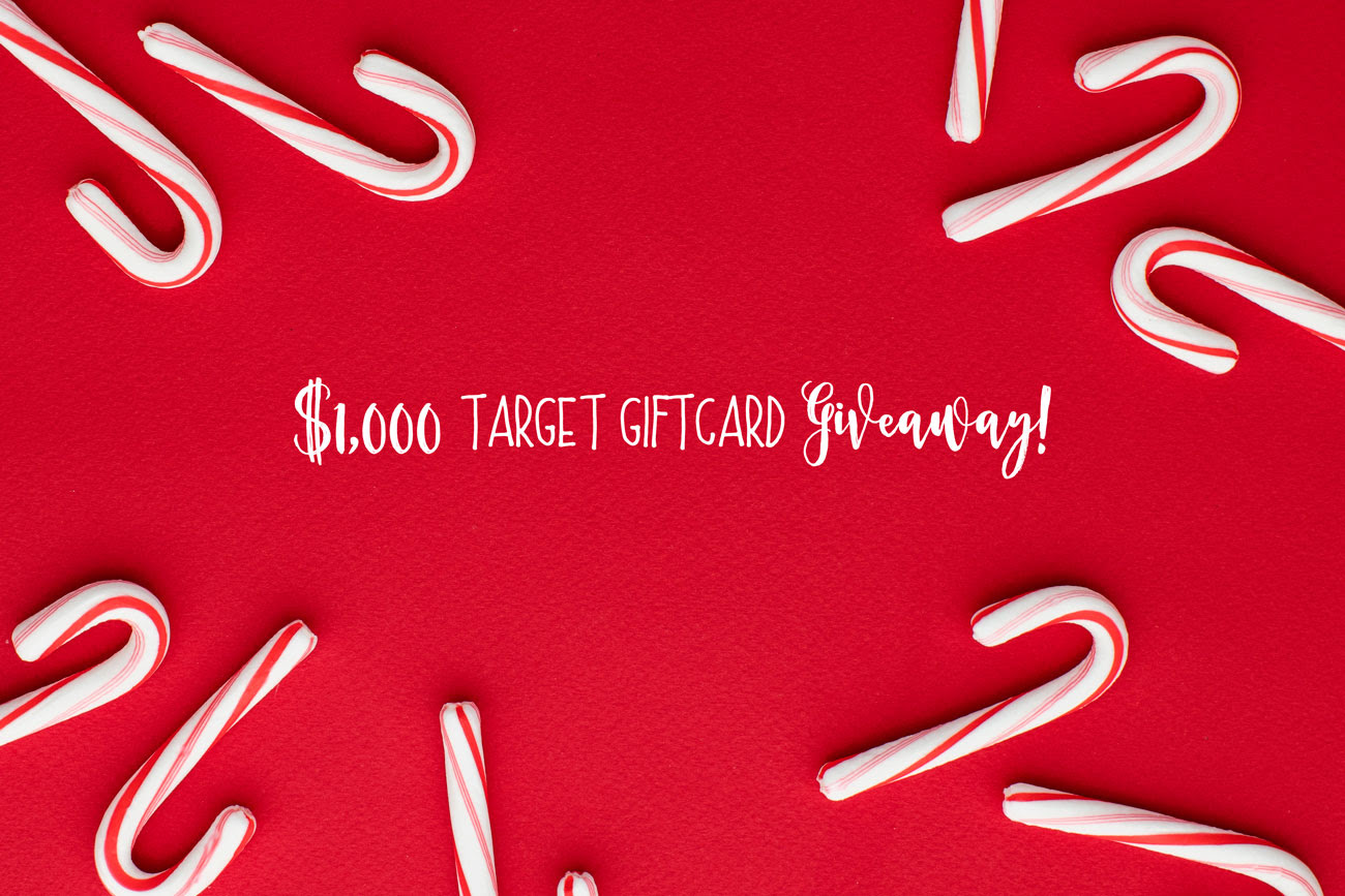$1,000 Target Gift Card Giveaway!