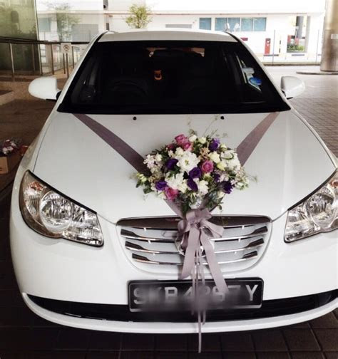 Bridal Car Decorations   Door Handle Ribbons (FROM $170