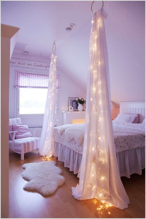 10 Amazing String  Lights  DIY Decorating  Ideas