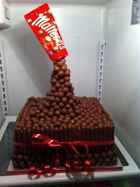 Zero gravity malteser chocolate cake   cakes I want to