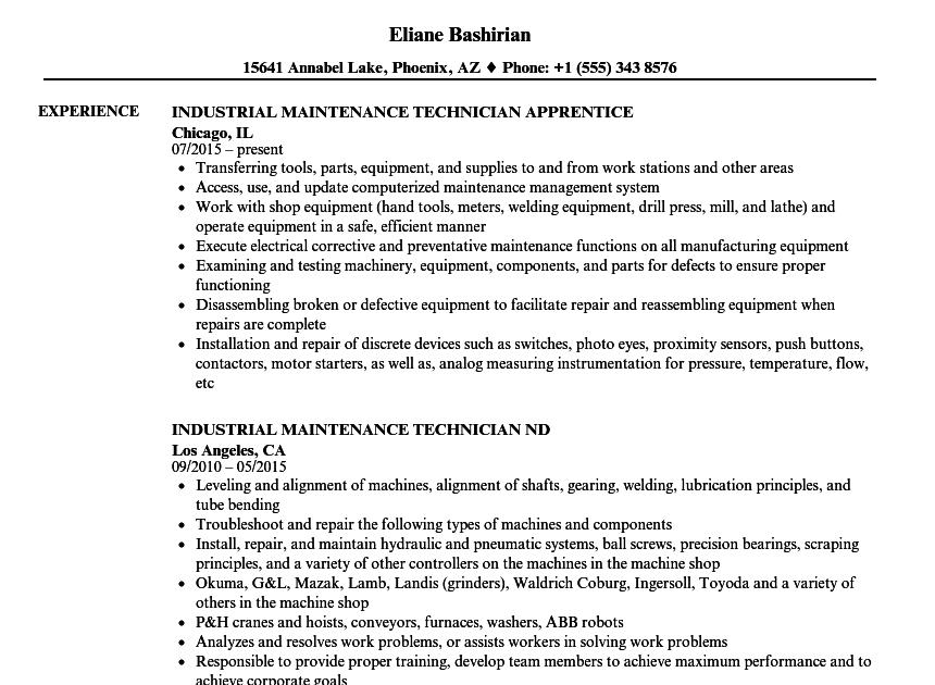 aircraft mechanic resume sample  resume template database