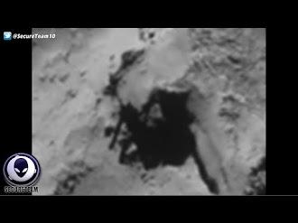 Alien Construction On Comet 67P? / Construcción alienígena en el Cometa 67P