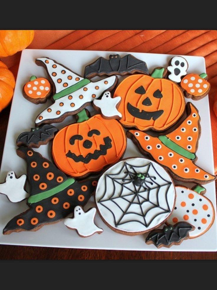 Halloween Cookies | cookies | Pinterest