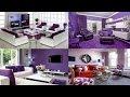 101+ Ide Desain Ruang Tamu Warna Ungu Terlihat Keren