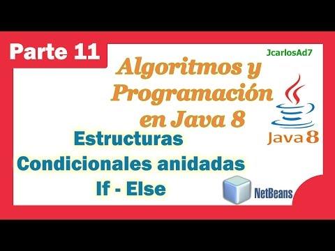 Estructura Condicional Anidada If Else Curso De Java