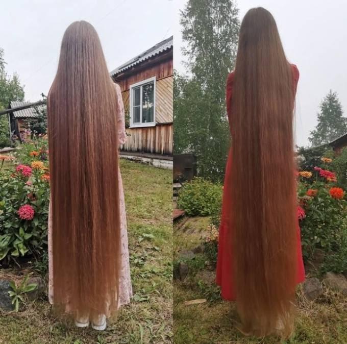 Nàng Rapunzel nước Nga 23 năm không cắt <b>tóc</b>
