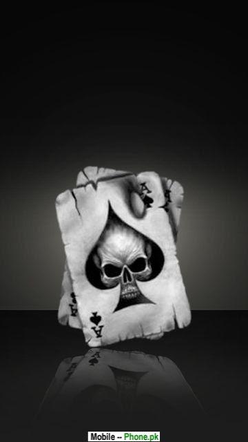 Skull cards Mobile Wallpaper Details