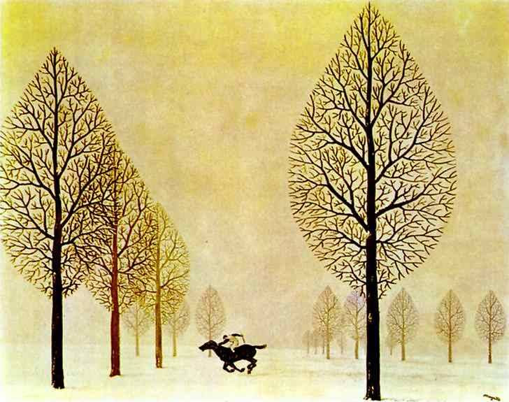 The lost jockey, 1948 Rene Magritte