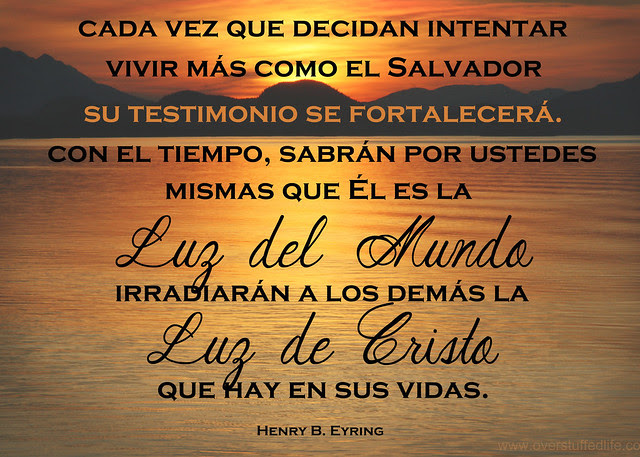 March 2014 Visiting Teaching Message - Light of the World - Spanish