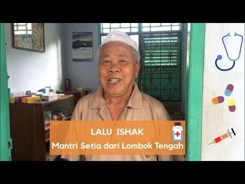 #VlogNews || Lalu Ishak Mantri Tertua dari Kabupaten Lombok Tengah
