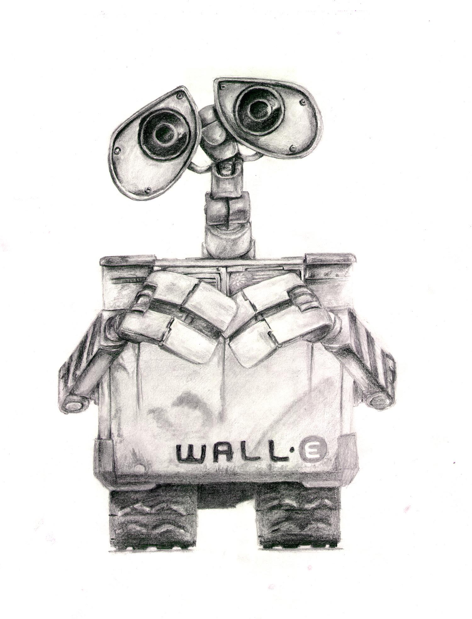 Wall E Characters Eve Paintbot Walle