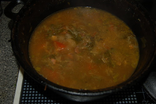 lovage and tomato soup Aug 13