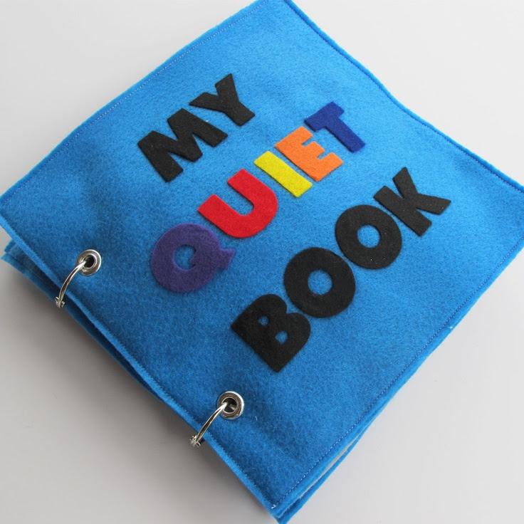 Felt Tranquillo libro - 6 pagine di divertimento educativo e interative