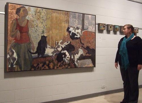 Dara Engler exhibit @ Barnwell, Shreveport by trudeau